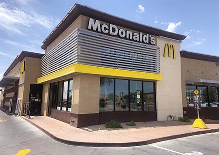 Outdoor Business Signs for McDonald's in Denver, CO