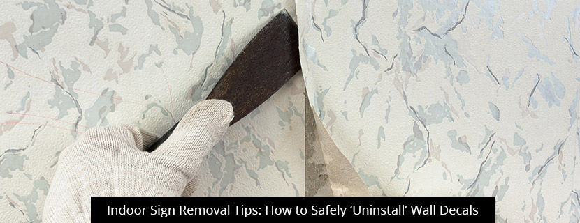 thumb-Indoor Sign Removal Tips: How to Safely 'Uninstall' Wall Decals