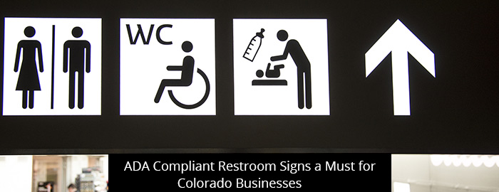 thumb-ADA Compliant Restroom Signs a Must for Colorado Businesses