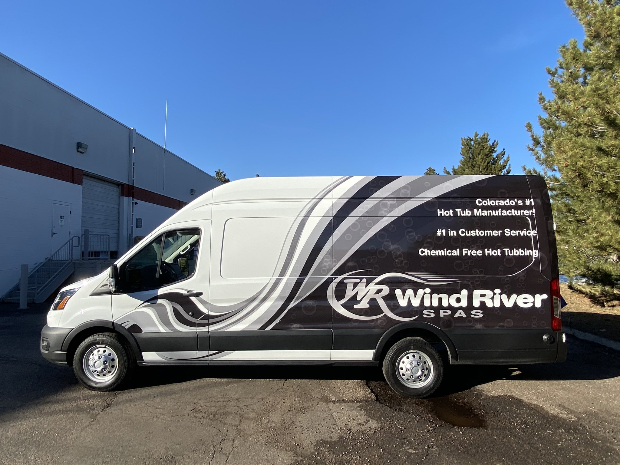 Commercial Vehicle Graphics for WR Van in Denver, CO