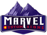 Marvel Custom Signs Official Logo