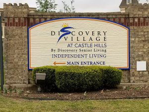 Outdoor Signs for Discovery Village Custom Made in Denver, CO