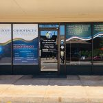 Large Storefront Window Graphics for Dody Chiropractic in Denver, CO
