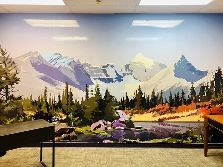 Large Wall Murals Cutom Made in Denver, CO