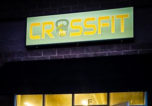 Crossfit Lighted Business Signs Custom Made in Denver, CO