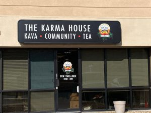 The Karma House Storefront Signs in Denver, CO