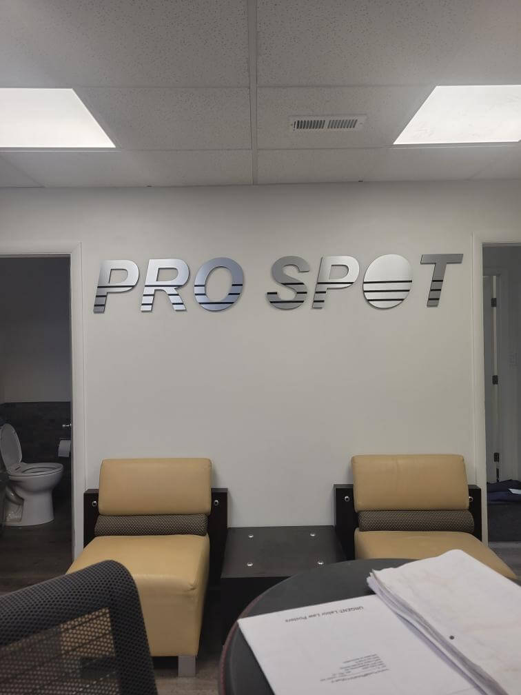Pro Spot Metal Lobby Signs for Office in Denver, CO
