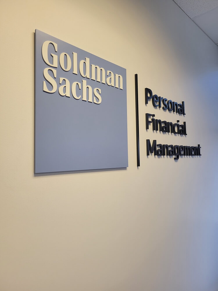 Goldman Sachs Corporate Lobby Signs in Denver, CO