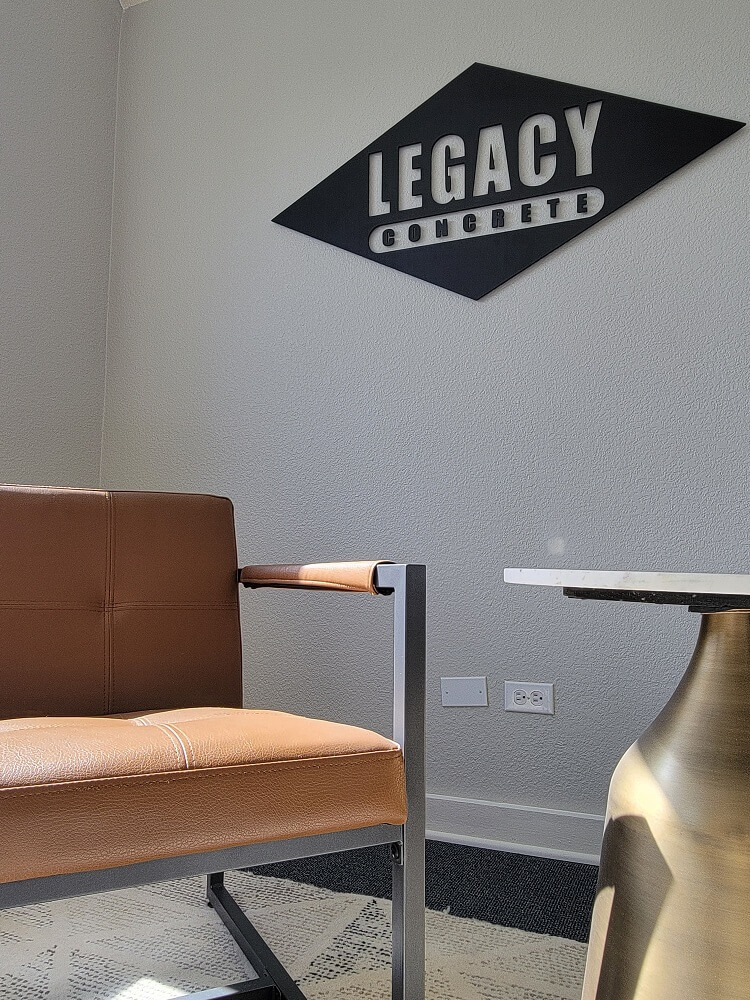 Legacy Lobby Signs Made in Denver, CO